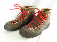 Vintage Fabiano 366 Mountaineering Hiking Boots Size 10 L
