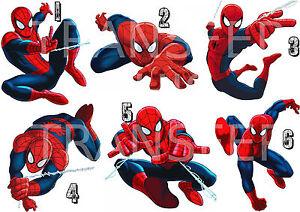 Spiderman Sticker Autocollant Ou Transfert Textile Vetement Tshirt