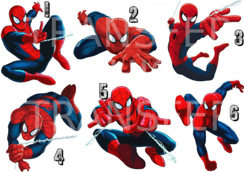 SPIDERMAN STICKER AUTOCOLLANT OU TRANSFERT TEXTILE VETEMENT  TSHIRT