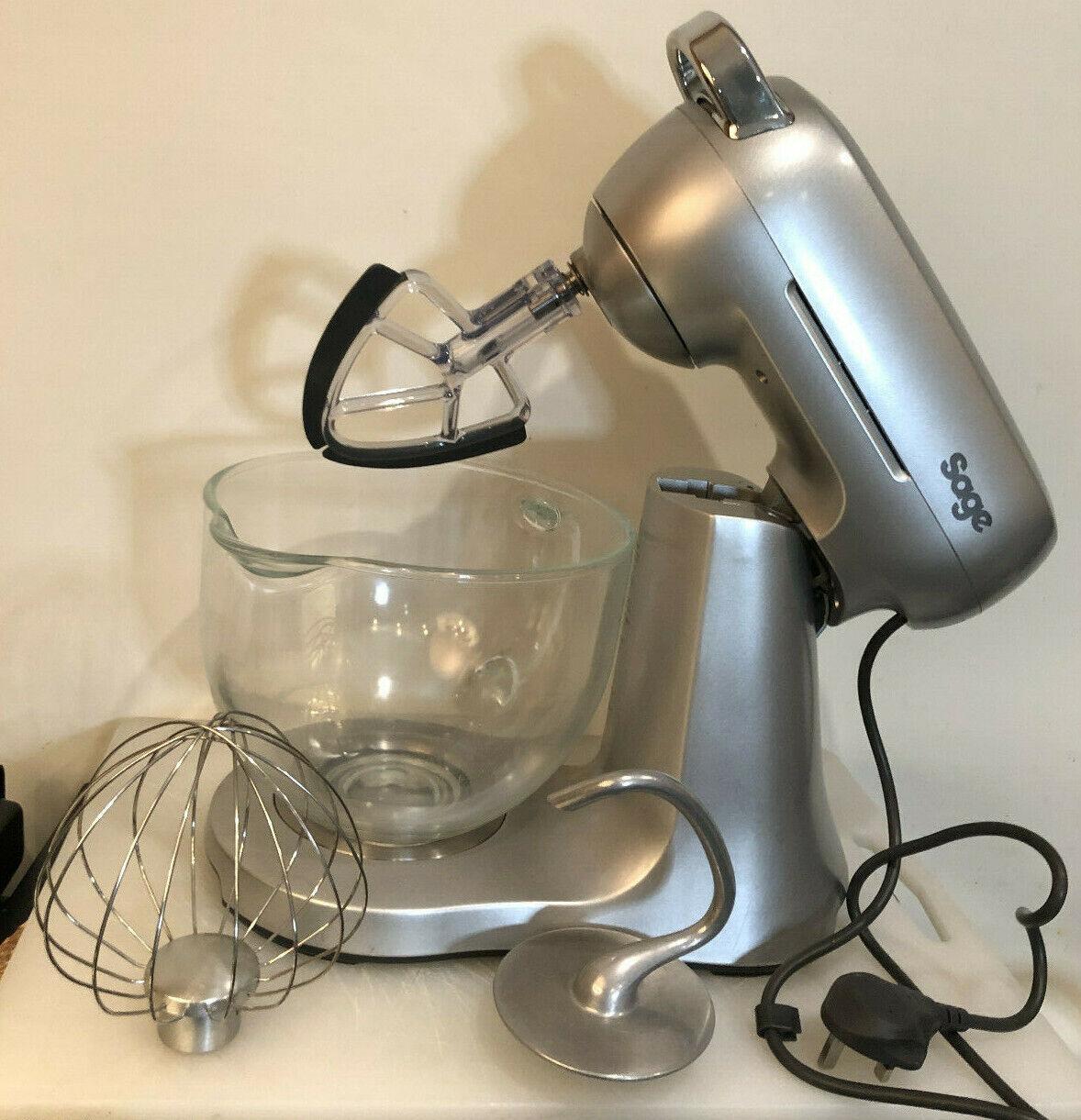 SAGE par Heston bleumenthal Racleur robot mélangeur argent 800 W