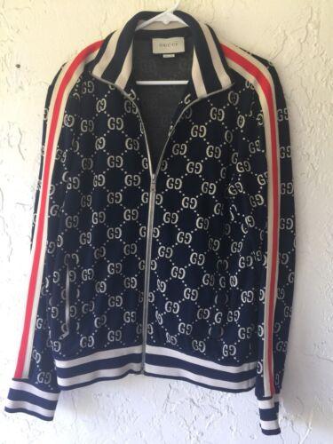 Mens Gucci Sweatsuit Blue Size XL