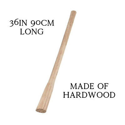 90cm 36in Hardwood Replacement Handle Shaft Wood for Pick Axe Grubbing Mattock