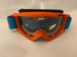 Scott-Motocross-Goggle-MX-Recoil-Xi-Adult-Orange-ATV-UTV-CR-YZ-KX-KTM-RM