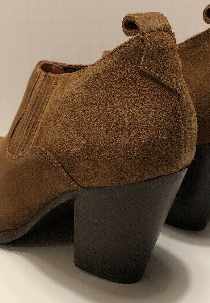 NEW FRYE Ilana Shootie Boot Women's 8 Cashew Italian Oiled Oiled Oiled Suede MSRP  278 b901e5