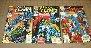VENOM The Mace #1 thru #3 (1994) VF Condition Comic Set - Embossed #1 Cover