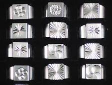 Wholesale Jewelry  Women's Unisex Fashion Aluminum Ring 50 Pcs Random Top Sale
