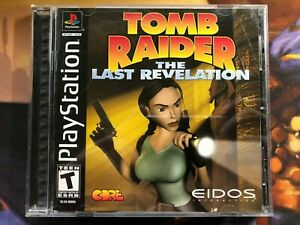 Tomb Raider The Last Revelation Sony Playstation One Ps1 Game
