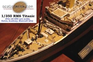 Wood-Deck-for-1-350-Titanic-Academy-or-Minicraft-kits-by-Scaledecks-com