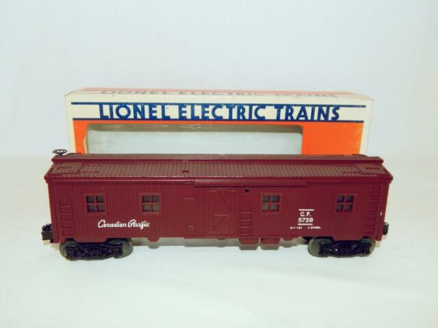 Lionel 6-5728 Canadian Pacific Bunk Car O MPC Passenger Cars Bunk Cars CP 1986
