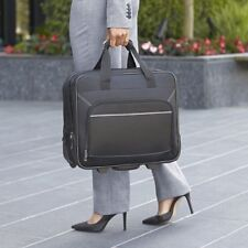 Rolling Laptop Case 17 Inch Wheeled Briefcase For Women Business Carry On Bag