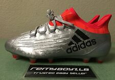 Adidas X 16.1 FG/AG Metallic Silver Mens Sz 7/ Women's Sz 8.5 adizero F50 Messi