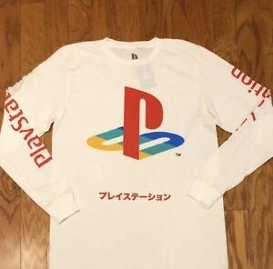 Nagelneu-mit-Tags-Playstation-Langarm-Shirt-sz-L