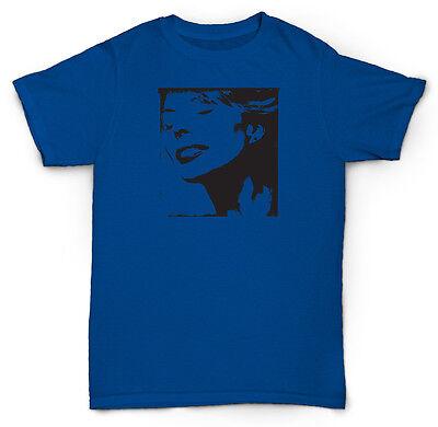 New JONI MITCHELL BLUE Canadian Singer Songwriter Men/'s Black T-Shirt S-2XL