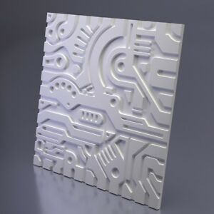 Business & Industrial *crag* 3d Decorative Wall Panels 1 Pcs Abs Plastic Mold For Plaster