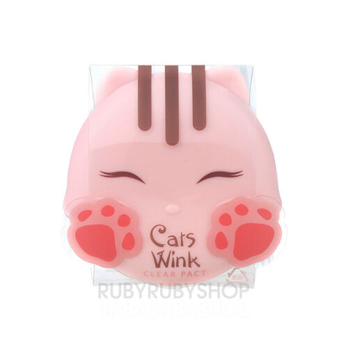 [TONYMOLY] Cat Wink Clear Pact - #1 Clear Skin