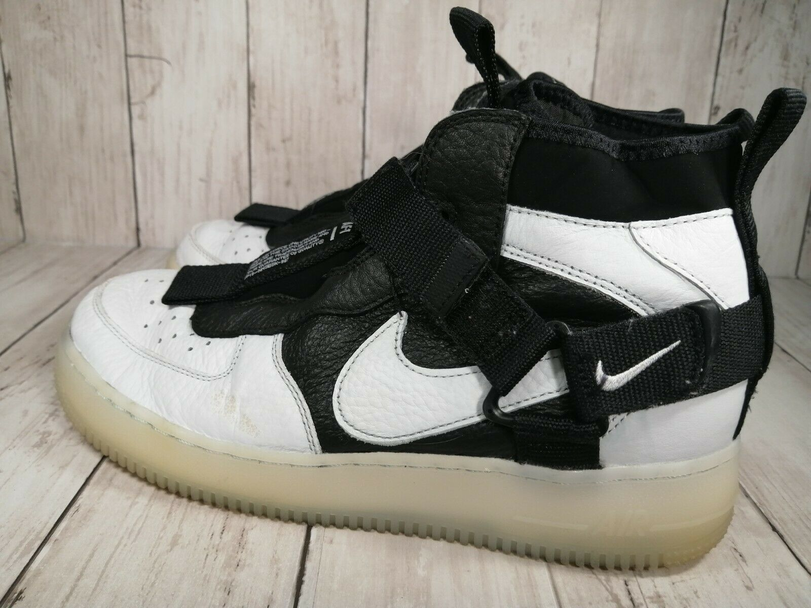 Size 8 - Nike Air Force 1 Utility Mid Orca 2019 for sale online   eBay