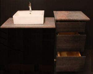 Image Is Loading Kraftmaid 45 034 Slate Maple Office Bathroom Vanity