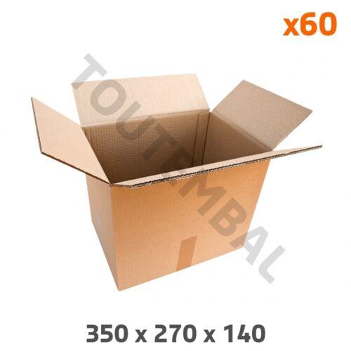 par 60 Carton double cannelure 350 x 270 x 140 mm