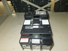 Square D Lel36400lsg Circuit Breaker 400a Frame 3p 600v Ac With Test Report Used