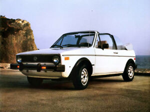 Image Is Loading 1981 Volkswagen Rabbit Convertible Cabrio Vw Refrigerator Magnet