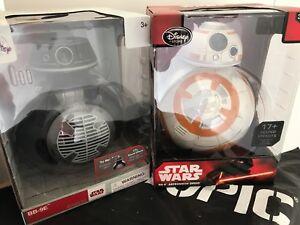 Figurine parlante Bb-9e et Bb-8 de Star Wars Droids de Disney Store