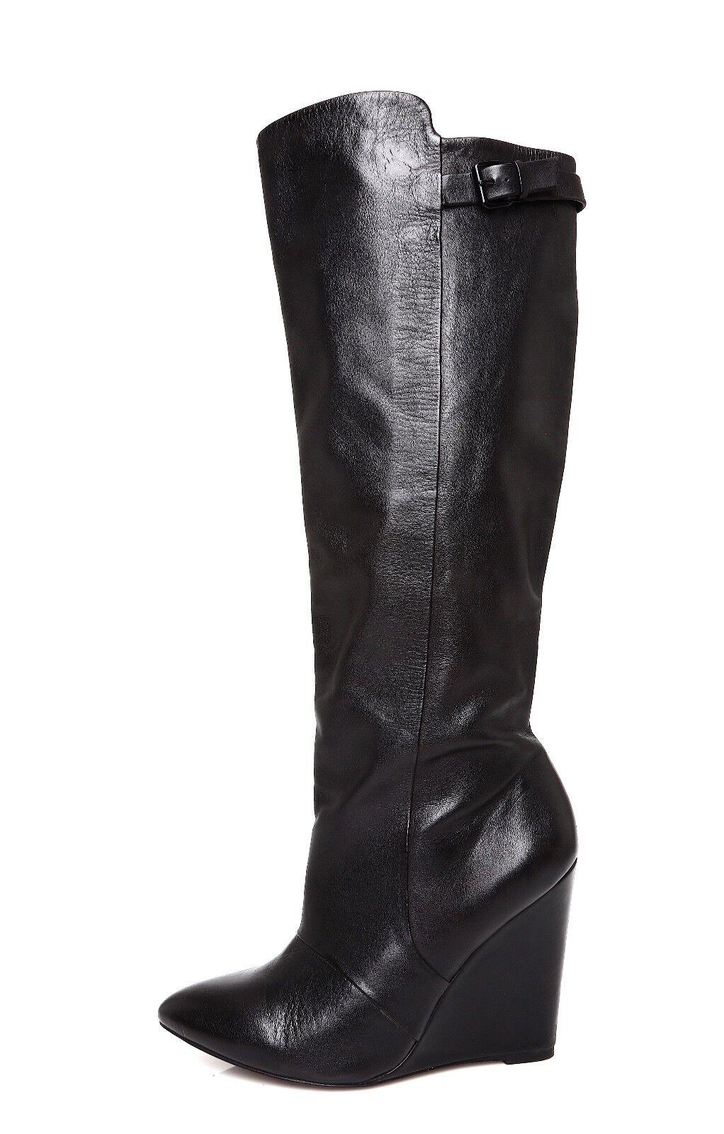 Steve Madden Zylon de tan Cuero Para Mujeres Mujeres Mujeres Bota Negro talla 9.5 M 4478   punto de venta