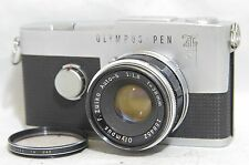 Olympus Pen F 35mm SLR Film Camera SN246972 w/F.Zuiko Auto-S 38mm F/1.8 Lens