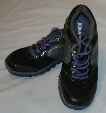 Admiral England 9 Sneakers Athletic Shoes Black Purple Womens Sports