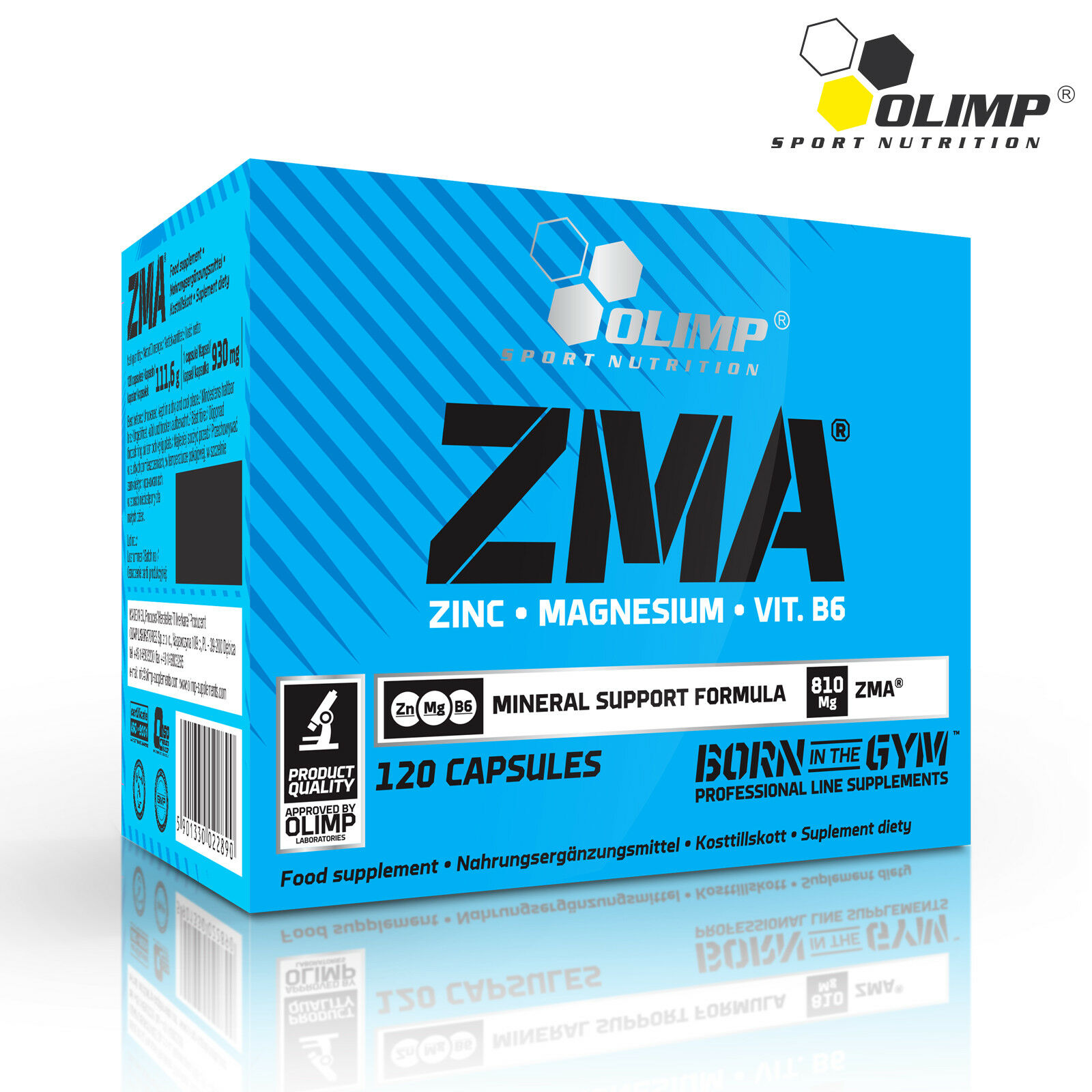 ZMA 15-240 Pills Male Testosterone Booster - Anabolic Testo Support - Sleep Aid
