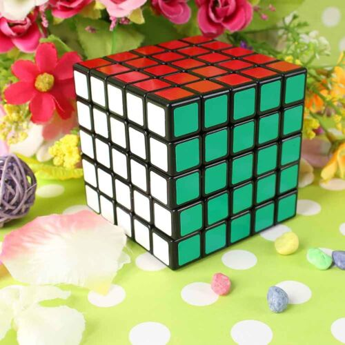 Super 5x5x5 Magic Cube 5x5 Speed Cube Ultra-smooth Puzzle Twist Toy Brain New