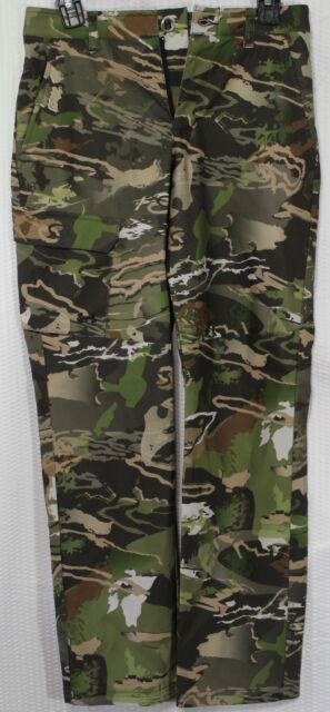 UNDER ARMOUR UA STEALTH EARLY SEASON HUNTING BOYS PANTS, CAMO:FOREST, 1290515943