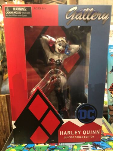 DC GALLERY SUICIDE SQUAD HARLEY QUINN PVC FIGURE MIB *IN STOCK* STATUE