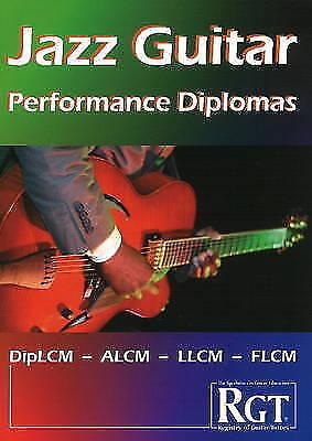 1 of 1 - RGT Jazz Guitar Performance Diplomas Handbook (Registry of Guitar Tutors), Very