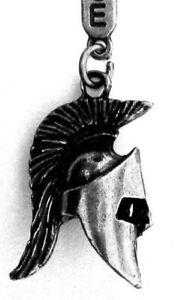 ANCIENT-GREECE-Spartan-Gladiator-Warrior-Leonidas-Helmet-Metal-Keyring-Keychain