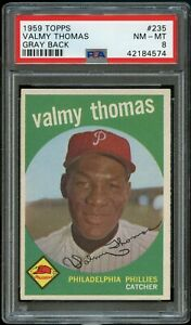 1959-Topps-BB-Card-235-Valmy-Thomas-Philadelphia-Phillies-PSA-NM-MT-8