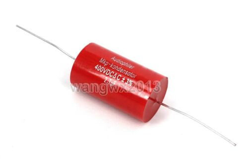2pcs 400V 2.7uF MKP Crossover Membrane Polypropylene Non-Polarity Capacitor