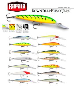 Rapala Down Deep Husky Jerk 12cm 15g deep diving Suspending lure