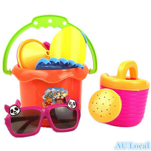 9pcs-Sandpit-Beach-Sand-Toy-Bucket-Shovel-Scoot-Filter-Mould-GBEAC0901