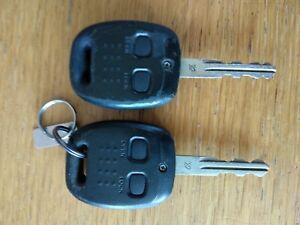 Image is loading Genuine-Subaru-Impreza-Legacy-Forester-2-Button-Remote- 0860fbca61