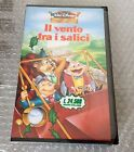 VINTAGE#VHS IL VENTO TRA I SALICI Disney # Pal Italiana Sigillata