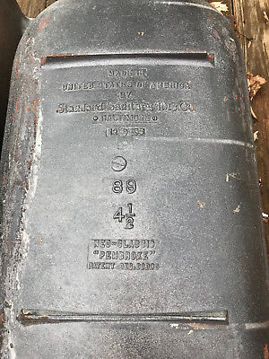Antique 1930s 4 5ft Bathtub Standard Sanitary Mfg Co American