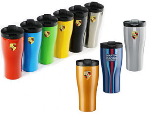 Porsche Coffee Tea Cup Travel Mug Thermal Insulating Cup Stainless Steel Chalk