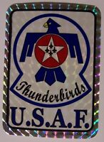 Window Bumper Sticker Military Air Force Thunderbirds U.s.a.f. Prismatic