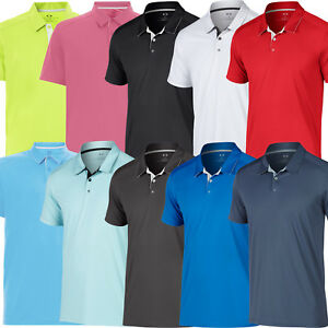 1e306604 Image is loading OAKLEY-MENS-DIVISIONAL-PERFORMANCE-TAILORED-FIT-GOLF-POLO-