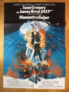 Diamantenfieber-James-Bond-007-Kinoplakat-039-71-Sean-Connery-Jill-St-John