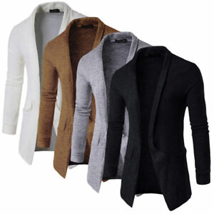 Men-Winter-Casual-Sweater-Long-Sleeve-Knit-Cardigan-Trench-Coat-Jacket-Slim-Suit