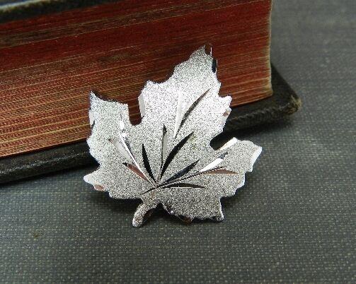 EMC Sterling Silver Maple Leaf Pin/ Brooch