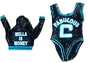 WWE-CARMELLA-RING-WORN-HAND-SIGNED-TLC-2018-JACKET-AND-SINGLET-WITH-PROOF-amp-COA