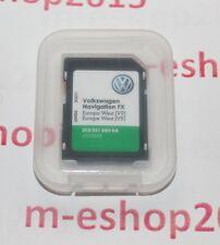 NEU !!! VW Navigations SD Karte FX Europa West (V9) für RNS 310 3C8051884DA 2017