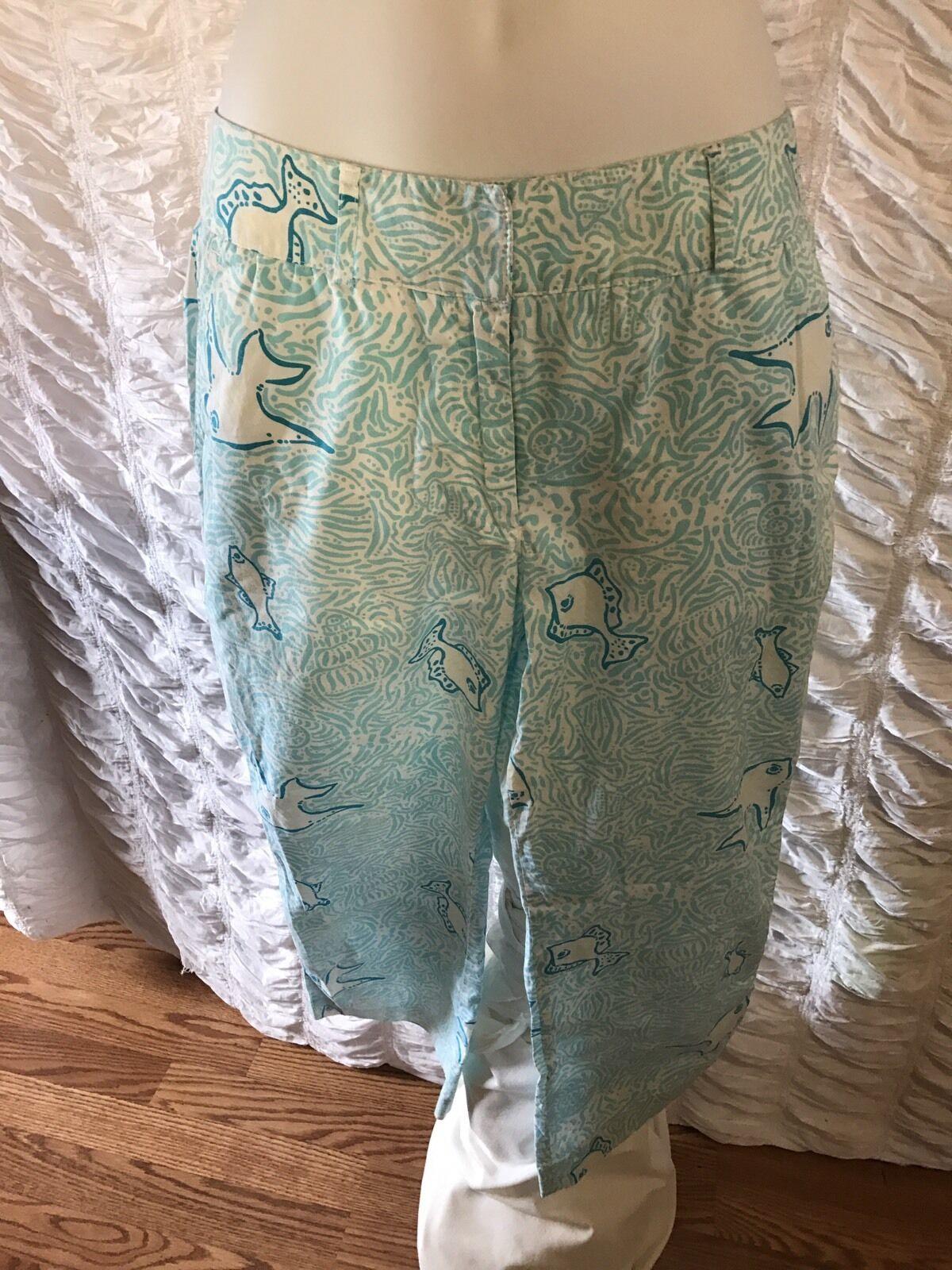 Lilly Pulitzer woman pant size 4 made in Hong Kong